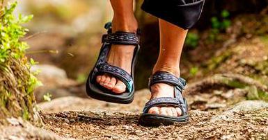 Få hjælp til valg af sandaler