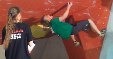 Junior DM, Bouldering 2014