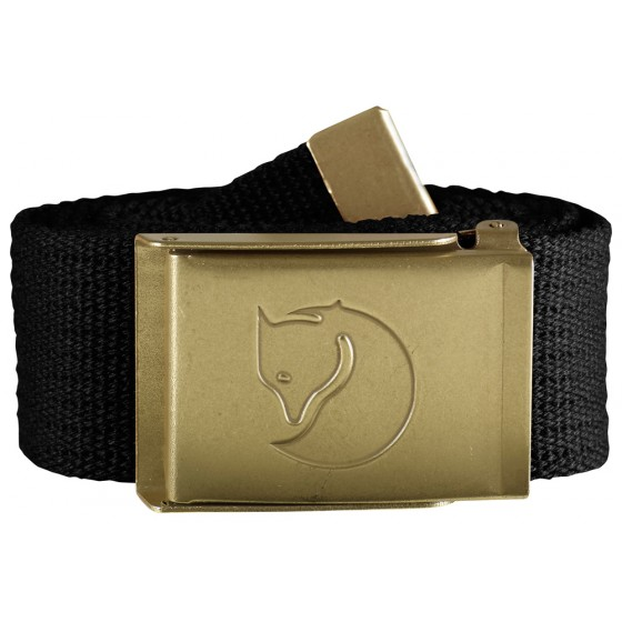 Canvas Brass Belt 4 cm bælte