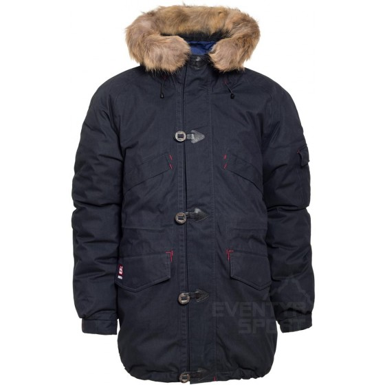 Snæfell Down Parka with real fur