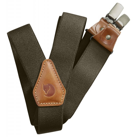 Leather Clip Suspenders seler