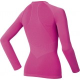 Odlo WMS Shirt L/S Crewn. EVO. WARM undertrøje, WMS Shirt L/S Crewn. EVO. WARM undertrøje, Fuchsia