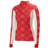 Helly Hansen HH Warm Freeze 1/2 Zip WMS undertrøje, HH Warm Freeze 1/2 Zip WMS undertrøje, 222 Alert Red/White