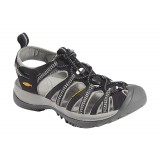 Keen Whisper sandal, Whisper sandal, Black/Neutral Gray