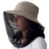 Travelsafe Mosquito Hat with UV Protection myggehat, Mosquito Hat with UV Protection myggehat,