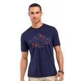 Icebreaker Tech T Lite All in a Day VT150 T-shirt, Tech T Lite All in a Day VT150 T-shirt, Admiral