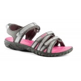 Teva Tirra Metallic Girls pigesandal, Tirra Metallic Girls pigesandal, Metallic Silver