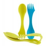 Light My Fire Sporks 'n Case™, Sporks 'n Case™, Cyan/Lime