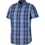 Haglöfs Kaha SS Shirt, Kaha SS Shirt, Hurricane Blue/imperial Purple