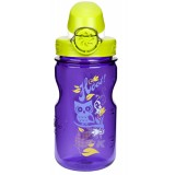 Nalgene Kids on the Fly OTF 350 ml drikkeflaske, Kids on the Fly OTF 350 ml drikkeflaske, Purple/Iguana