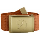 Fjällräven Canvas Brass Belt 4 cm bælte, Canvas Brass Belt 4 cm bælte, Autumn Leaf
