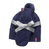 Helly Hansen Montreal Chunky Knit Set hue/vanter, Montreal Chunky Knit Set hue/vanter, 695 Nordic Purple