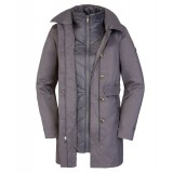 The North Face Riverdale Trench Triclimate Jacket WMS 3-i-1-jakke, Riverdale Trench Triclimate Jacket WMS 3-i-1-jakke, Graphite Grey Melange