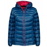 Me°ru' Burnaby Down Jacket WMS damedunjakke, Burnaby Down Jacket WMS damedunjakke, Moroccan Blue/Beetroot Purple