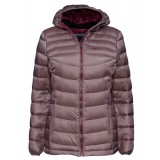 Me°ru' Burnaby Down Jacket WMS damedunjakke, Burnaby Down Jacket WMS damedunjakke, Shark/Crushed Violet