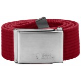 Fjällräven Canvas Belt bælte, Canvas Belt bælte, Deep Red