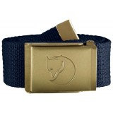 Fjällräven Canvas Brass Belt 4 cm bælte, Canvas Brass Belt 4 cm bælte, Dark Navy