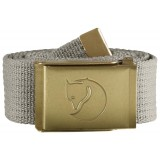 Fjällräven Canvas Brass Belt 4 cm bælte, Canvas Brass Belt 4 cm bælte, Fog