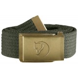 Fjällräven Canvas Brass Belt 3 cm bælte, Canvas Brass Belt 3 cm bælte, Mountain Grey