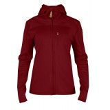 Fjällräven Keb Fleece Jacket WMS damefleece, Keb Fleece Jacket WMS damefleece, Ox Red