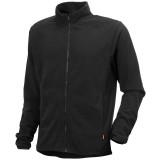 Didriksons Monte Microfleece Jacket herrefleece, Monte Microfleece Jacket herrefleece, Black 060