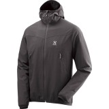 Haglöfs Natrix Hood softshell, Natrix Hood softshell, True Black