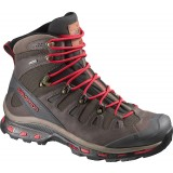 Salomon  Quest Origins GTX vandrestøvle,  Quest Origins GTX vandrestøvle, Absolute Brown X/Black/Quick