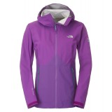The North Face Fuse Originator Jacket WMS regnjakke, Fuse Originator Jacket WMS regnjakke, Iris Purple/Magic Magenta