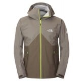 The North Face Fuse Originator Jacket Men regnjakke, Fuse Originator Jacket Men regnjakke, Black Ink Green/Vaporous Grey