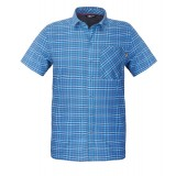 The North Face S/S Hypress Shirt Men herreskjorte, S/S Hypress Shirt Men herreskjorte, Heron Blue Plaid