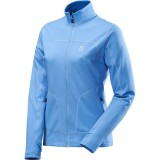 Haglöfs Stem II Jacket Women damefleece, Stem II Jacket Women damefleece, Aero Blue