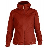 Fjällräven Stina Jacket vindjakke, Stina Jacket vindjakke, Deep Red