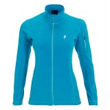 Peak Performance Lead Jacket W fleece, Lead Jacket W fleece, 2S9 Atomic Blue