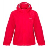 Me°ru' Cape Breton 14 Rain Jacket Kids børneregnjakke, Cape Breton 14 Rain Jacket Kids børneregnjakke, Cherry