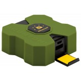 Brunton Revolt 4000 batteri, Revolt 4000 batteri, Outdoor Green