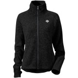 Didriksons Crave Wms Jacket damefleece, Crave Wms Jacket damefleece, Black 060