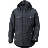 Didriksons Patch Jacket herrejakke, Patch Jacket herrejakke, MIDNIGHT 237