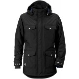Didriksons Patch Jacket herrejakke, Patch Jacket herrejakke, Black 060