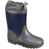 Didriksons Slush Kids Winter Boots forede gummistøvler, Slush Kids Winter Boots forede gummistøvler, Navy 039