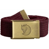 Fjällräven Canvas Brass Belt 3 cm bælte, Canvas Brass Belt 3 cm bælte, Dark Garnet