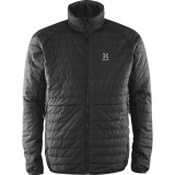 Haglöfs Barrier Lite Jacket Men fiberjakke, Barrier Lite Jacket Men fiberjakke, True Black/Magnetite