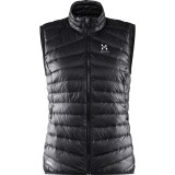 Haglöfs Essens III Down Vest Women dunvest, Essens III Down Vest Women dunvest, True Black/Magnetite