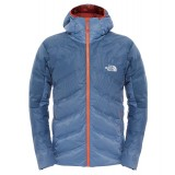 The North Face FuseForm™ Dot Matrix Hooded Down Jacket M dunjakke, FuseForm™ Dot Matrix Hooded Down Jacket M dunjakke, Conquer Blue Tri Matrix