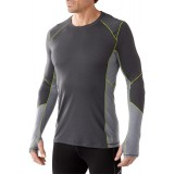 Smartwool PhD Light Long Sleeve undertrøje, PhD Light Long Sleeve undertrøje, Graphite 018