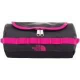 The North Face Base Camp Travel Canister S toilettaske, Base Camp Travel Canister S toilettaske, TNF Black/Luminous Pink
