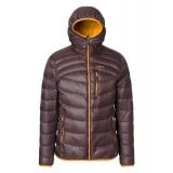 Me°ru' Burnaby Down Jacket dunjakke, Burnaby Down Jacket dunjakke, Dark Brown/Bronze