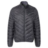 Me°ru' Gander II Down Jacket Men dunjakke, Gander II Down Jacket Men dunjakke, Black/Dark Grey