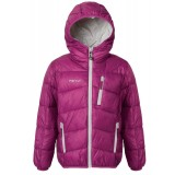 Me°ru' Bayham Insulated Jacket Kids børnejakke, Bayham Insulated Jacket Kids børnejakke, Purple/Silver