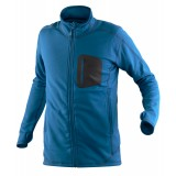 Tierra Cabane Powerstretch Jacket herrefleece, Cabane Powerstretch Jacket herrefleece, Active Blue