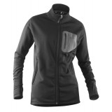 Tierra Cabane Powerstretch Jacket herrefleece, Cabane Powerstretch Jacket herrefleece, Black